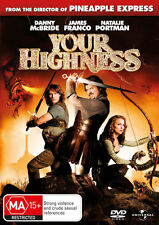 YOUR HIGHNESS DVD=NATALIE PORTMAN=REGIONS 2(UK) & 4(AUST)=AUS.RELEASE=NEW/SEALED