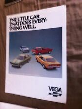 1973 CHEVY CHEVROLET VEGA COLOR BROCHURE CATALOG Prospekt
