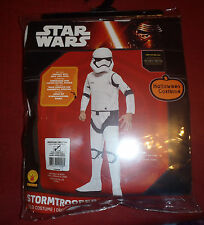 Halloween Star Wars Stormtrooper Child Costume Rubies Size Medium 8-10 Disney