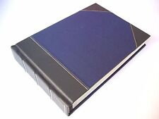 Leather Bound Photo Album Wedding & Special Occasions - Navy