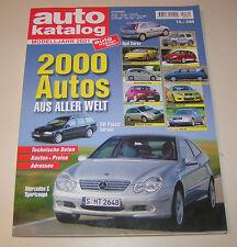 Catalogo Auto Anno Modello 2001 - No. 44