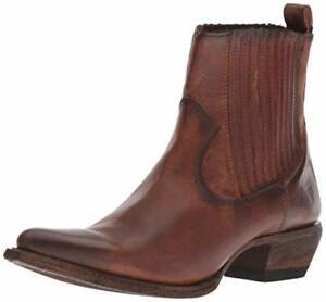 Frye Women's Sacha Chelsea Western Boot Cognac 11
