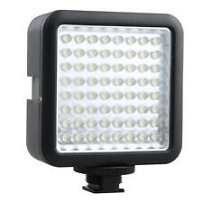 Godox 64-LED Video Light Lamp for DSLR Camera Camcorder Canon Nikon Pentax