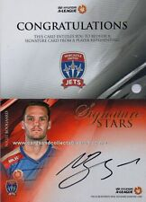 2016 - 17 A League Signature Stars Card SS 06 Nigel Boogaard #16