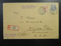 Germany 1931 Registered Cover to USA - Z6641