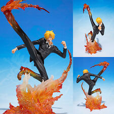 PVC Figuarts ZERO Sanji Diable Jambe Premier Hache from One Piece Bandai Japan