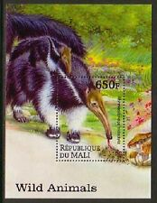 Giant Anteater Wild Animals Mnh S/S stamp Ante01
