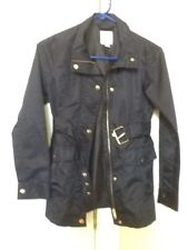 NEW GIRLS SIZE XL/14 Navy 1989 PLACE Lightweight Belted Jacket