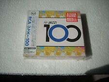 RCA 100 JAZZ - VARIOUS ARTISTS - JAPAN CD (NYLON JACKET NOT GOOD)