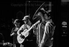 """Royal Street Buskers, New Orleans 13x19"""" SIGNED PRINT by Louis Maistros"""
