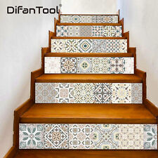6pcs 3D Stair Riser Staircase Sticker Photo Mural Vinyl Decal Scenery Wallpaper