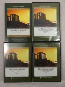 The Medieval World TTC Teaching Co. Great Courses 6 DVDs + Book Dorsey Armstrong
