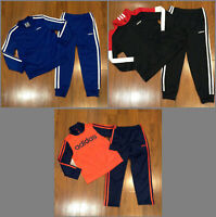 adidas Toddler Boy's Multi-Color Tracksuit Size 2T, 3T, 4T, 5 New