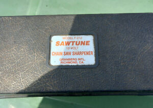 Granberg Sawtune F212 Chain saw sharpener 12 volt