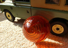 Series 1 2 2a Genuine Lucas L594 Indicator Amber Light Glass Lens Land Rover