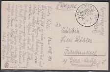21284) KAIS. DEUTSCHE MARINE SCHIFFSPOST Nr. 139 SMS Luitpold AK nach Gera 1916