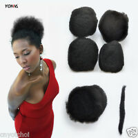 "Yonna Afro Soul Kinky Bulk 6""-20"" TAK-4P 100% Human Hair Braiding For Dreadlocks"