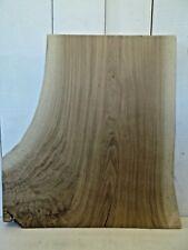 "29"" x 17"" NICE WIDE White Oak Slab End Table Top Live Edge Board Lumber Wood"