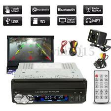 "1 DIN Single 7"" HD Touch Screen Car MP3/MP5 Bluetooth GPS Navigation + Camera"
