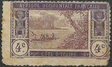 1913 COSTA DE MARFIL. Laguna de Ebrié.