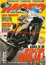 MOTO & MOTARDS  51 KAWASAKI ZZR 1200 ZX-9 636 TRIUMPH 600 Speed Four BUELL XB-9