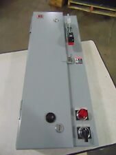 Cutler Hammer 0 Combination Starter Disconnect Electric Motor Electrical Box