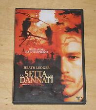 LA SETTA DEI DANNATI (con HEATH LEDGER) - DVD FILM