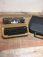 Vintage Authentic Quelle International German Bestell Mechanical Typewriter
