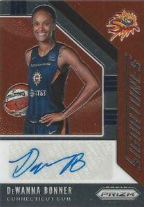 2020 WNBA PANINI PRIZM DeWANNA BONNER SIGNATURES AUTOGRAPH CARD CONNECTICUT SUN