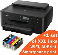 New printer with ink Canon Pixma TS705 Printer+5 XXL Inks WiFi next day delivery
