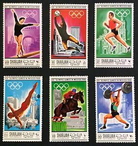 Sharjah - Summer Olympics 1968 - MNH