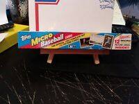 1992 Topps Baseball MICRO Factory Sealed Complete Set w/ 12 GOLD Cards