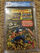 Tales of Suspense 86 Cgc 7.5 Marvel 1967 Iron Man Captain America S. Lee/ Kirby