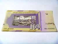 100 denar 2013 Macedonia banknote denara unc