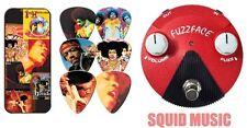 Jim Dunlop Jimi Hendrix Band of Gypsys Mini Fuzz Face FFM6 (PICKS & TIN JHPTO8M)