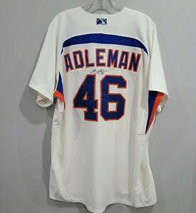 Autographed Aberdeen Ironbirds Tim Adleman 46 Game Worn Jersey Mens 48 XL