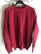 Paul & Shark Yachting Mens wool sweater Burgundy/Red size XXL