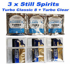 10 x Alcotec Turbo Yeast 48 Hours Free Postage