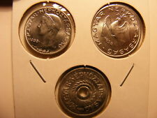 HUNGARY - 1950's - Three Different Choice Uncirculated Coins