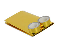 Reflective Golden Heat Shield Tape 20'' x 20'' Sheet for Thermal Racing Engine