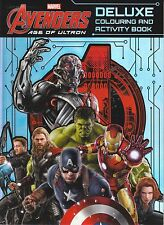 Marvel Avengers Age of Ultron - Deluxe Colouring and Activity Book by...