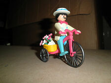 PLAYMOBIL 5400 Flower seller w/ tricycle and flowers Lot for 5300 mansion house