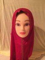 Islamic Hijab Kuwaiti style scarf