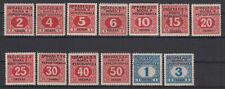 Bosnia and Herzegovina Porto Mi#1/13 1916 MH *