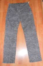 Levis perfectly slimming 512 straight leg jeans womens size 12m camo gray