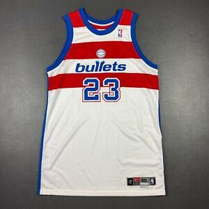 "100% Authentic Michael Jordan Nike 02 03 Washington Bullets Pro Cut Jersey 50+4"""