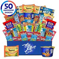 My College Crate Microwaveables Ultimate Snack Care Package for College Stude...