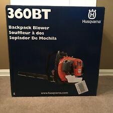 "Husqvarna 360BT 2 cycle 66cc gas backpack leaf blower ""New in Box"""