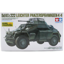 Tamiya Sd.Kfz.222 Leichter Panzerspahwagen 4x4 Armoured Car Model Kit Scale 1:35