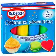 PACK Cake Gel Food Colour Cake Colouring Decorating Writing Kit - DR OETKER